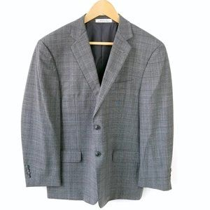JOSEPH ABBOUD Men's Gray Suit Jacket Blazer 40S